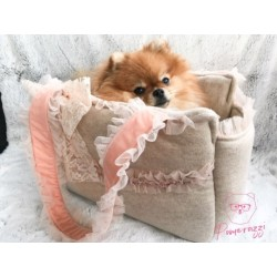 Luxury Dogs Chique Bag Beige S