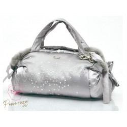 Mon Bonbon Diamond Bag Grey