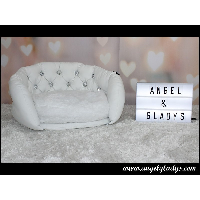 Sleep Angel Kussen.Angel Gladys Deluxe White